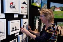 SAW artists 2014 / Here are examples from the Single Artist Wall artists exhibiting in the NZ Art Show 2014. To get a real sense of what their art is like, come and see them and meet them at the show - http://artshow.co.nz/buy+tickets