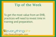 Tips of the Week / Everything EHR Tips of the Week - Dedicated to advising Behavioral Healthcare professionals and academics during their electronic health records, clinical and training hours tracking, and revenue cycle management search.
