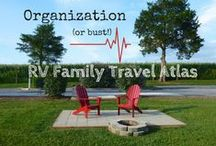 RV Organization / Our ongoing attempts at making our RV comfortable AND organized.