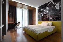 Bedrooms / Interior design | residential | bedrooms | bedroom design