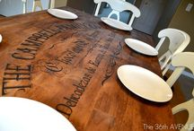 Craft Vinyl Decals furniture & Wall Ideas / Wonderful ideas you can do too..