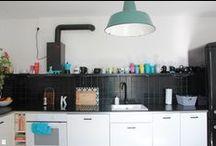 MY SCANDINAVIAN KITCHEN/ Nasza kuchnia / black & white, scandinavian design, kitchen, diy/ biało-czarny wystrój, styl skandynawski, kuchnia