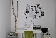 MY SCANDINAVIAN DOTS ROOM/ Nasz pokój w kropki / black & white, scandinavian design, dots, workspace ideas, diy/ czarno-biały wystrój, styl skandynawski, kropki, strefa pracy