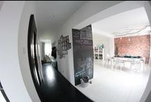 MY SCANDINAVIAN HOL/ Nasz skandynawski dom / black & white, scandinavian design, hol/ czarno-biały wystrój, styl skandynawski, przedpokój