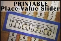 Place Value / Teaching students about place value is such a tricky concept, but not anymore! This board is dedicated to great place value math activities that you can use in your 1st, 2nd, 3rd, 4th, 5th, or 6th grade classroom (or in your homeschool!). You're going to love the games, activities, resources, and FREE downloads you'll find right here!