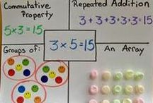 Multiplication and Division / Let's face it - multiplication and division facts aren't fun for everyone. No one likes constant drill and kill - and that's where this Pinterest board comes into play! Use the ideas, resources, activities, and FREE downloads found at this board to help your 2nd, 3rd, 4th, 5th, or 6th grade students (and homeschool children!) master their multiply and divide facts in no time at all!