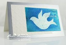 Doves, Birds, die cut OR papercrafted / doves and birds for cards etc papercrafted or die cut