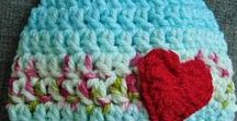 CROCHET BABY HATS / HATS crocheted for babies and toddlers. including pre school sizes where available