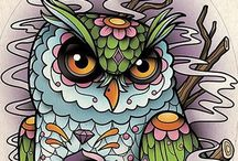 Tattoo / Inspirasjon til lårtattoo.