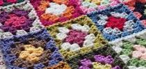 "Granny Squares & Blanket Ideas / GRANNY SQUARES  there's lots of different ones even  hexagons which are not squares! this board is mainly for blankets of all sizes and throws made in the ""granny square"" style and some instructions to crocjhet, block & join them all together"