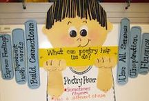 Poetry / If you're on the lookout for poetry ideas you can use in the elementary classroom, you've come to the right place! Here you'll find great ideas for preschool, Kindergarten, 1st, 2nd, 3rd, 4th, 5th, and 6th grade classroom. Even homeschool families will enjoy these poem ideas! Look closely and you'll see a few free downloads as well!