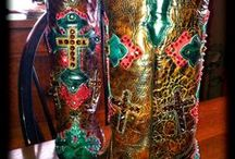 """Cowgirl Boots / """"Sometimes a cowgirl has to do what a cowboy can't."""". --  Unknown / by Christina McEdwards-Gillespie"""
