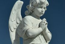Angel sculptures