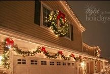 & Christmas on the outside! / There are soooo many great ideas for fun decorating outside the house....which theme will we choose?! / by Min Green