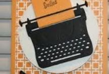 typewriter die creations