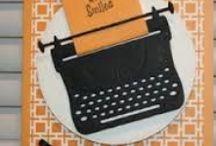 typewriter die creations