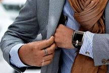 The Dapper Professional / Men's Suiting Style Inspiration: Great looks Great pieces Gorgeous outfits for men