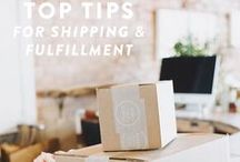 Shipping Resources / Shipping resources for your handmade business' Etsy or other shop for the holidays and everyday.  #crafter #handmadebusiness #handmadeartist #entrepreneur #smallbusiness
