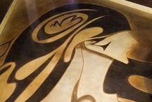 Art in Concrete by Decorative Concrete Council Members / Artists have found a unique and durable medium - concrete! Check out these masterpieces installed by Decorative Concrete Council (DCC) members. Learn more about the Decorative Concrete Council by visiting: http://www.ascconline.org/DecorativeConcreteCouncil/Overview.aspx #DCC
