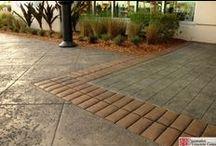 Stamped Concrete by Decorative Concrete Council Members / Stamped concrete installed by members of the Decorative Concrete Council of the ASCC. Learn more about the Decorative Concrete Council by visiting: http://www.ascconline.org/DecorativeConcreteCouncil/Overview.aspx