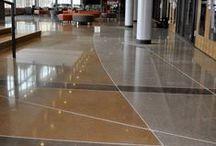 Polished Concrete by Decorative Concrete Council Members / Polished concrete projects installed by Decorative Concrete Council members. Learn more about the Decorative Concrete Council by visiting: http://www.ascconline.org/DecorativeConcreteCouncil/Overview.aspx