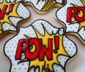 Comic Book Inspired Recipes / Recipes inspired by the world of Superheroes and comic characters!