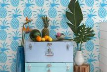 P I N E A P P L E / Piña Pineapple decoration, patterns