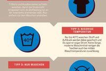 DIY T-Shirt Upcycling / Du hast ein altes T-Shirt im Schrank, das du nicht mehr trägst, aber für die Tonne ist es zu schade? Dann gibt es viele kreative Möglichkeiten, was man aus T-Shirts sonst noch machen kann, außer sie anzuziehen.