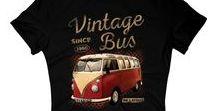 Stylisch & Vintage - T-Shirts, die auffallen / Ein Bild sagt mehr als 1000 Worte - Ein #T-Shirt auch! Wir lieben besonders stylische Shirts, die gern auch mal #Vintage sein dürfen. Egal ob für Männer oder Frauen, Jung oder Alt, für den Sommer oder den Winter, bei unseren bedruckten Textilien findet jeder seinen Stil.