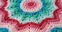 Crochet Ripple Blankets / Patterned Items etc / BLAKETS AND OTHER ITEMS THAT ARE MADE ISING CROCHET RIPPLE STITCH PATTERNS