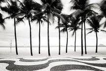 Rio de Janeiro . Black and White