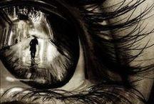 Eyes…windows to the soul. / Eye catching eyes.
