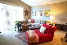 One Bedrooms / When you arrange your living room furniture, think less of symmetry and more of comfort.  -Billy Baldwin