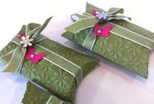 Gift wrapping etc