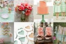 the wedding...colour schemes!