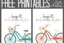 Imprimibles / Plantillas chulas para imprimir #printables