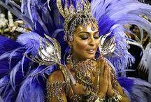 Carnival Queens . Brasil