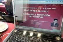 México / Seminario de Marketing Educativo 2015. Herman Bustos y Erasmo Arellano