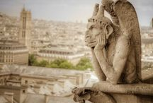 """I saw the """"gargoyle"""" in the """"stone"""" & carved until I set it free. / Gargoyles  Original quote...I saw the angel in the marble and carved until I set it free.  A beautiful quote, but for me more apt about gargoyles who are just angels with indigestion!!!"""