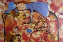 Анна Силивончик (живопись, иллюстрации) / НЕОБЫКНОВЕННАЯ И НЕОДНОЗНАЧНАЯ ЖИВОПИСЬ АННЫ СИЛИВОНЧИК