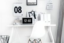 Home Office | Working Space Inspirations / Effective and creative places