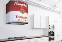 Creative Rangehoods / Life is too short to cook in a boring kitchen... get creative with a Rangehood!