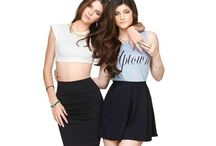 Kylie and Kendall Jenner  / Kendall & Kylie Jenner are my fashion inspiration / by Taryn Paul