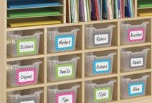 Chevron Classroom / Creative ways to incorporate chevron stripes and bright colors in school displays, accesories, storage, bulletin boards, and labels! #Teacher Created Resources #Chevron Classroom