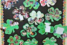 St. Patrick's Day Ideas / Fun art, snack, and literacy ideas to help celebrate St. Patrick's Day!