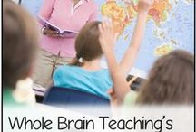 Whole Brain Teaching Resources / Brain-based learning and behavior management ideas!