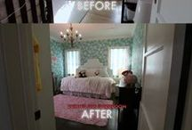 Before and After / #DreamBuilders designers' re-designed spaces.  / by American Dream Builders