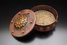 Boxes and Containers / Beautiful crafted boxes, vessels and containers - metal, wood, pottery, assemblage, and more.