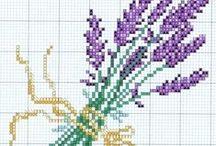 Lavanda cross stitch