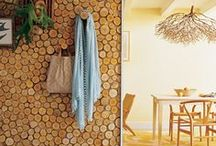 Timber in Interiors / Trending this week on House of Home is about embracing elements of nature.